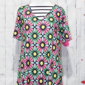 VFISH FLORAL DRESS SIZE SMALL